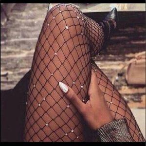 Accessories - Jeweled Fishnets ❤️
